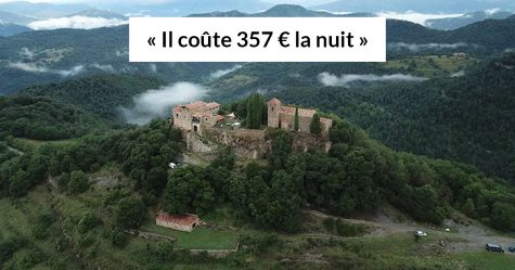 Tu peux louer ce château médiéval en Espagne avec 15 amis pour moins de 25€ la nuit chacun