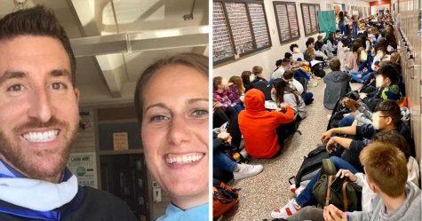 Une école catholique a obligé deux enseignants gays à démissionner après leurs fiançailles, alors les étudiants ont organisé une énorme manifestation