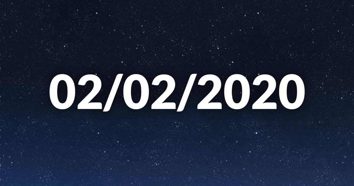 02/02/2020, le premier jour palindrome en 909 ans