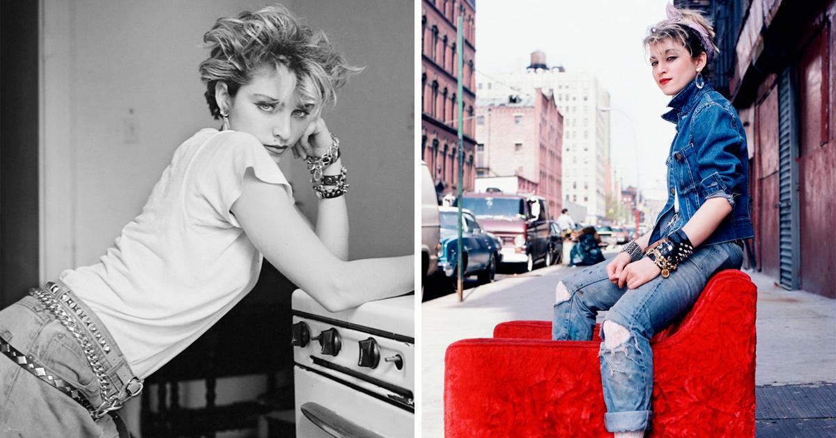 Ce photographe montre Madonna avant sa popularité en 1983 (29 photos)