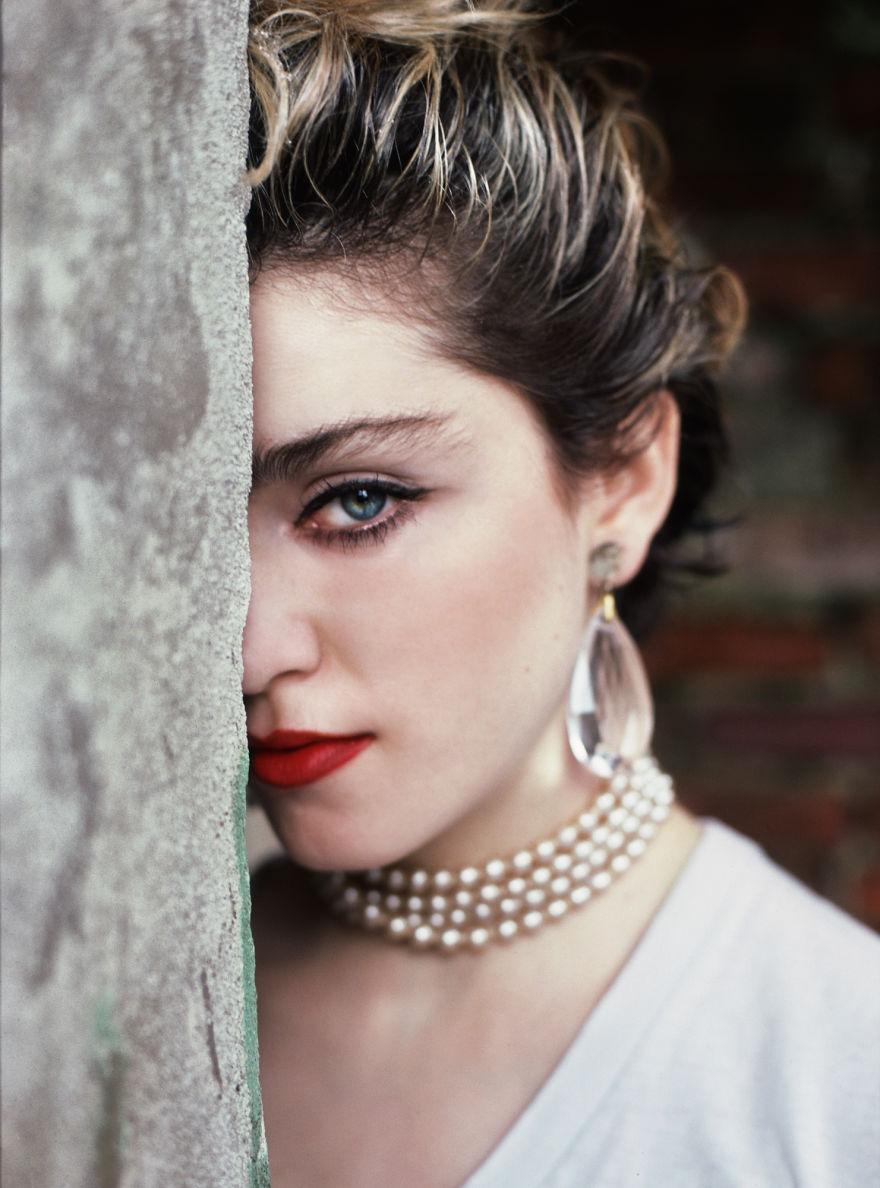 Un photographe a montré Madonna avant sa popularité en 1983 (29 photos)