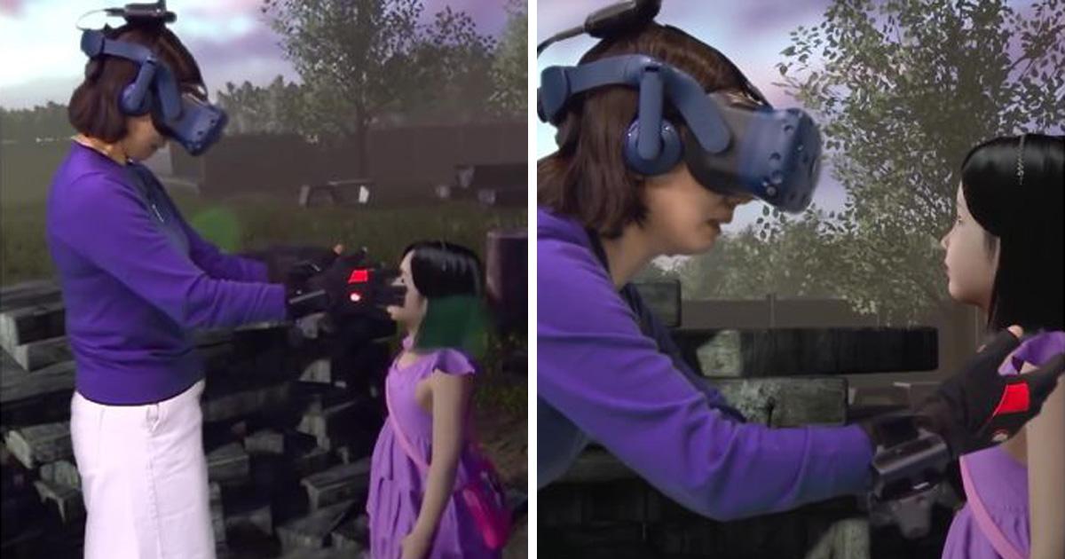 VIDÉO. Grâce à la réalité virtuelle, une mère revoit sa fille décédée