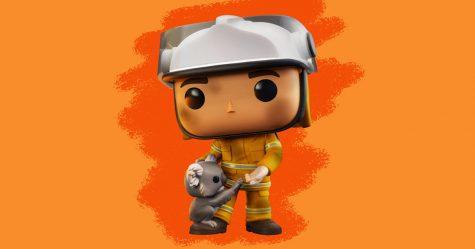Ces figurines Funko Pop à l'image des pompiers australiens servent à recueillir des fonds pour les animaux touchés par les feux de forêt