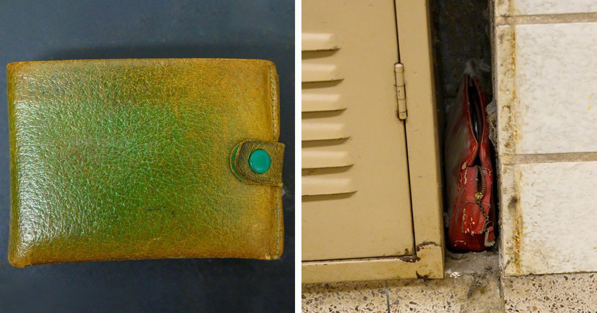 Cette école a trouvé un sac à main perdu dans les années 50, et c'est comme une capsule temporelle pour les gens de cette génération