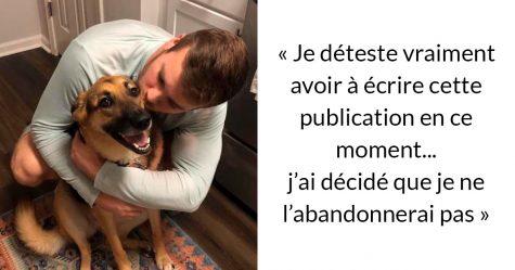 Avant d'obtenir un chien, assurez-vous de lire le message honnête de ce gars sur les difficultés d'en avoir un