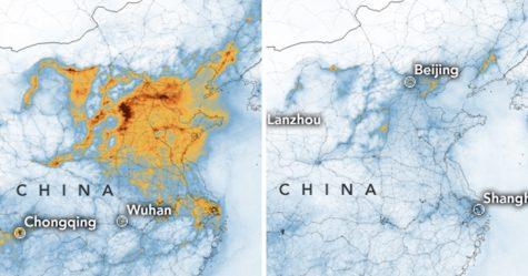 Des images de la NASA montrent une baisse radicale de la pollution en Chine après la quarantaine due au coronavirus