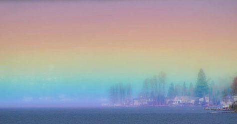 Cet «arc-en-ciel horizontal» à couper le souffle a été capturé dans le cliché d'une vie