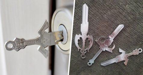 Cette société crée des clés en forme d'épées pour que vous puissiez déverrouiller vos portes comme un guerrier