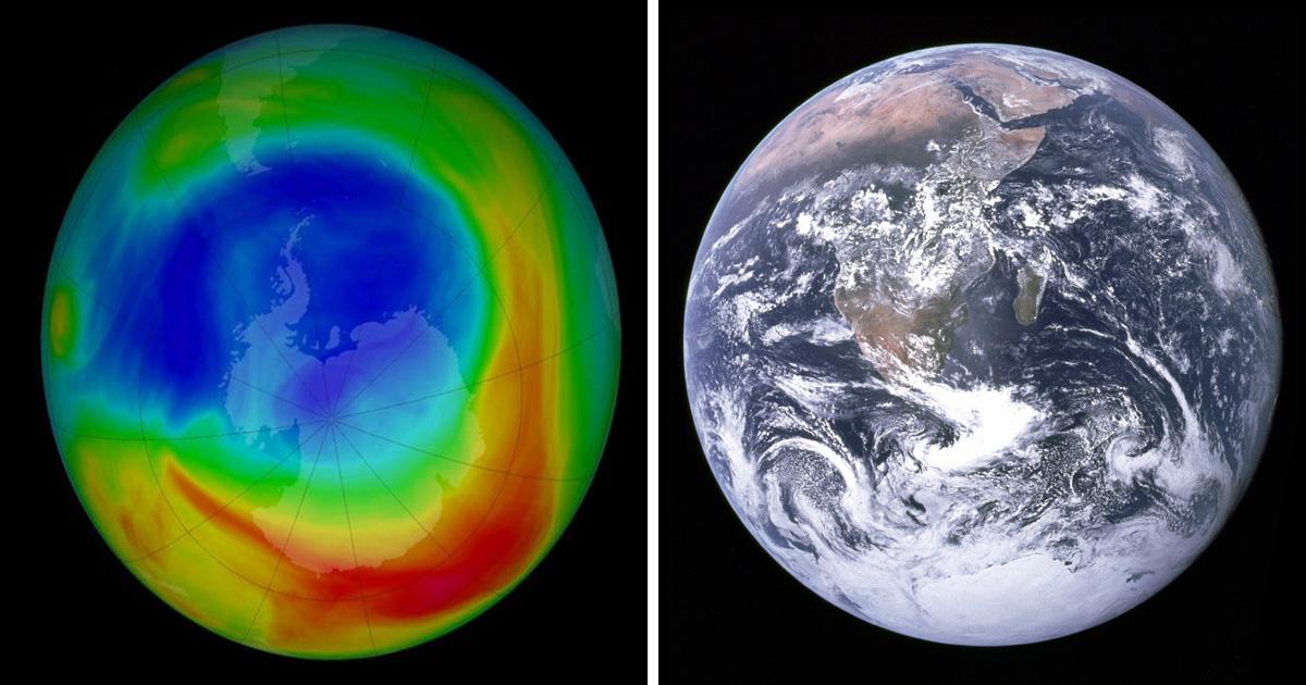 La couche d'ozone de la Terre semble se rétablir, selon des experts
