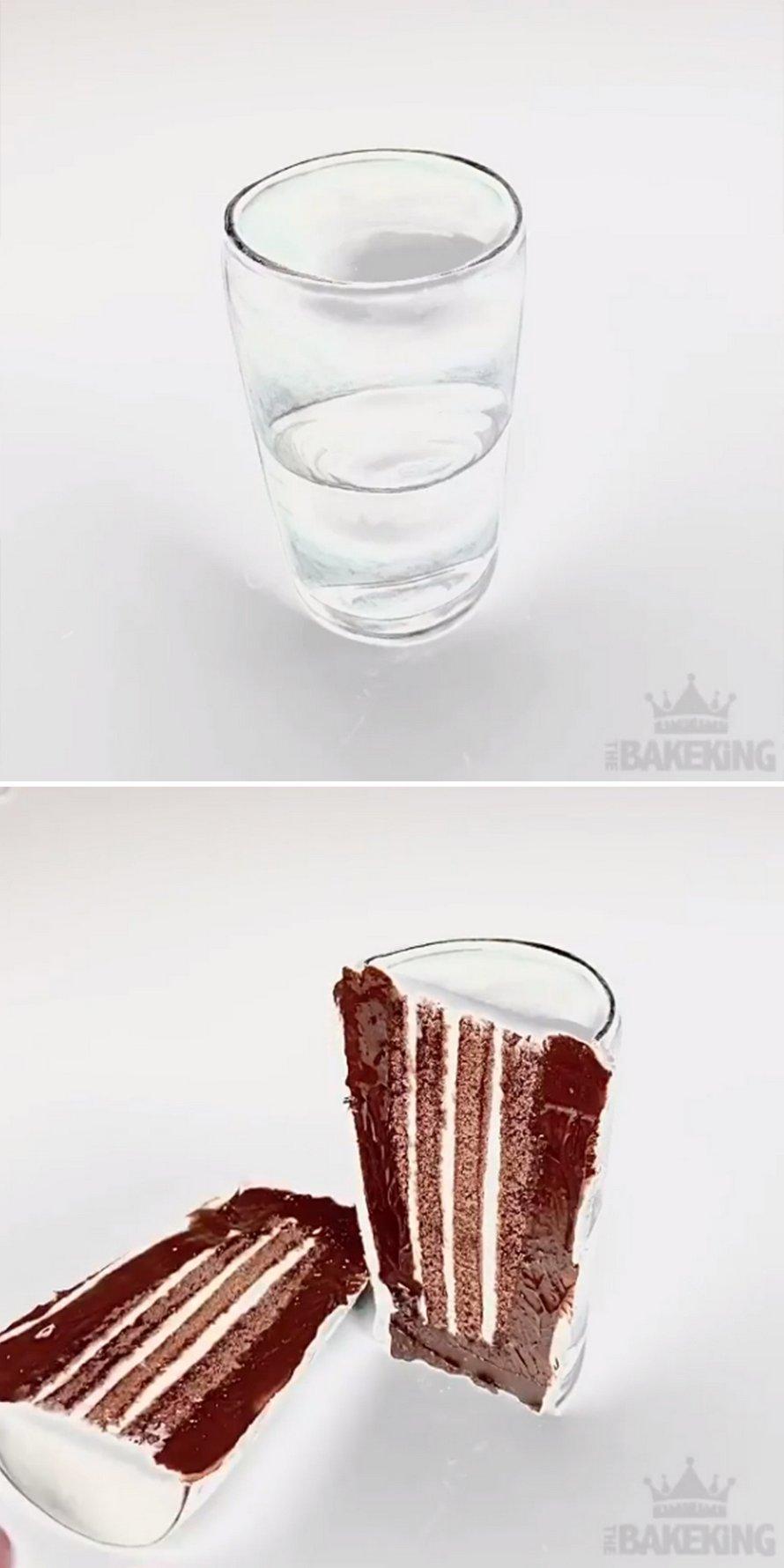 22 gâteaux par un maître des illusions qui sont trop beaux pour être mangés