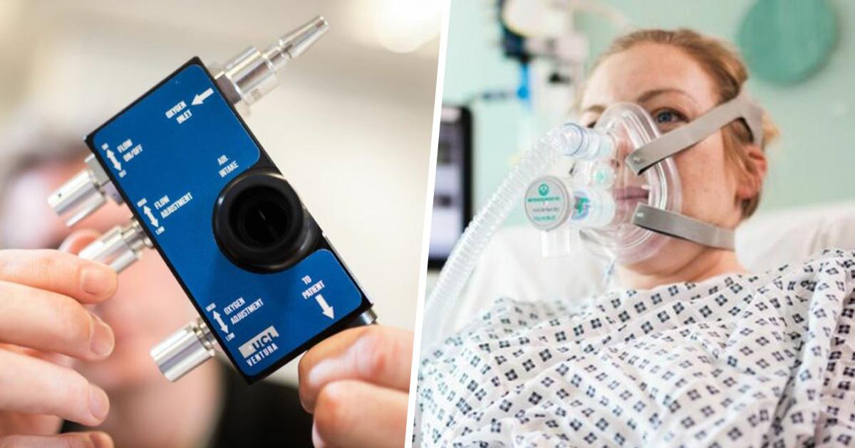 Des ingénieurs de Formule 1 ont aidé à concevoir une aide respiratoire pour le coronavirus en 4 jours seulement