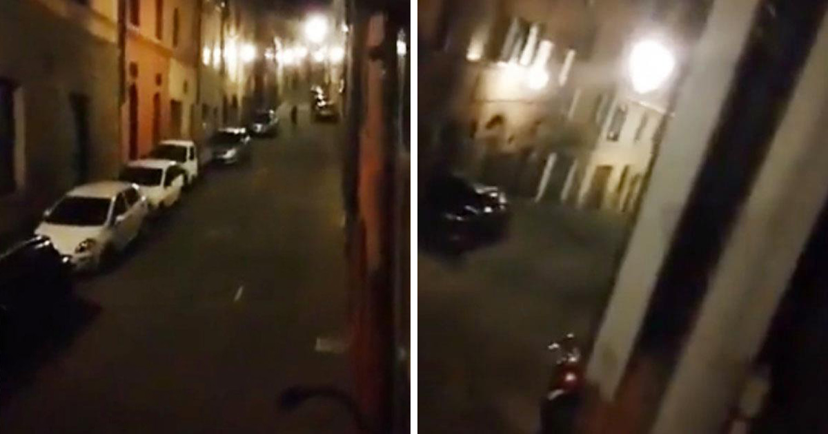 Privés de sorties, les Italiens chantent au balcon — Coronavirus