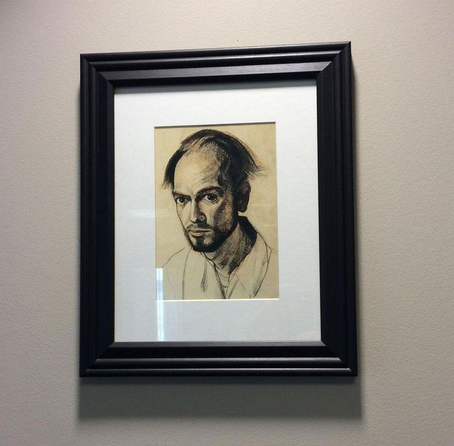 Un artiste atteint de la maladie d'Alzheimer a dessiné des autoportraits pendant 5 ans jusqu'à ce qu'il se souvienne à peine de son propre visage
