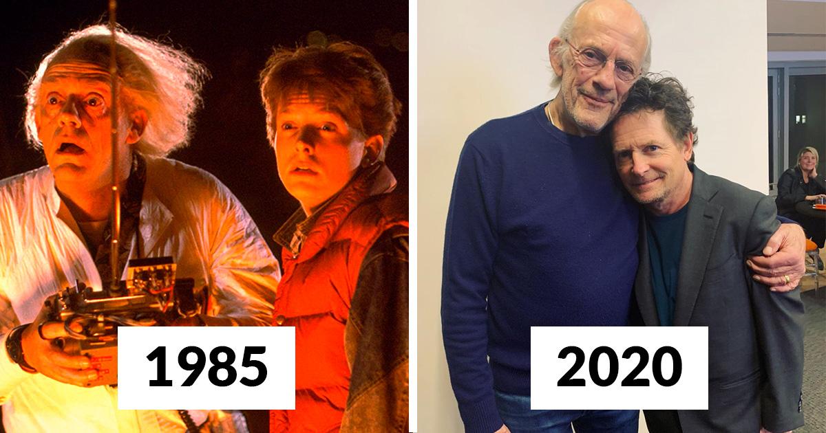 Doc et Marty de «Retour vers le futur» viennent de se retrouver