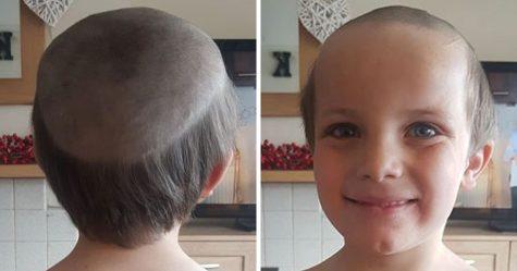 Ce garçon de cinq ans s'est fait couper les cheveux par son frère en confinement et ressemble maintenant à un «vieil homme»