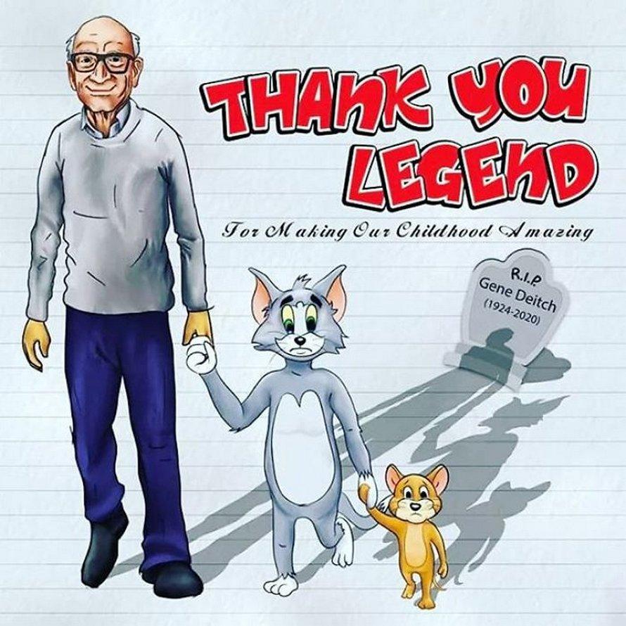 Des artistes rendent hommage à Gene Deitch, illustrateur de Tom et Jerry et Popeye, en 25 illustrations touchantes