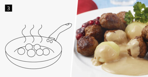 IKEA a partagé sa recette emblématique de boulettes de viande et elle ne comprend que 6 étapes faciles