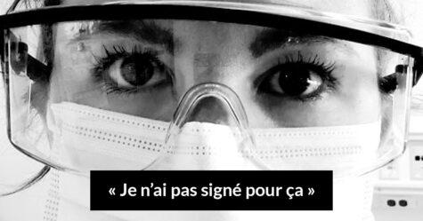 Cette infirmière a craqué et a expliqué pourquoi elle n'a pas signé pour la pandémie de coronavirus