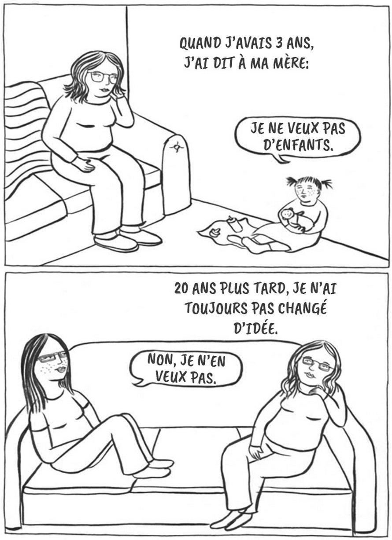 Ce ne sont pas toutes les femmes qui veulent des enfants et cette artiste explique pourquoi c'est correct en 13 illustrations honnêtes