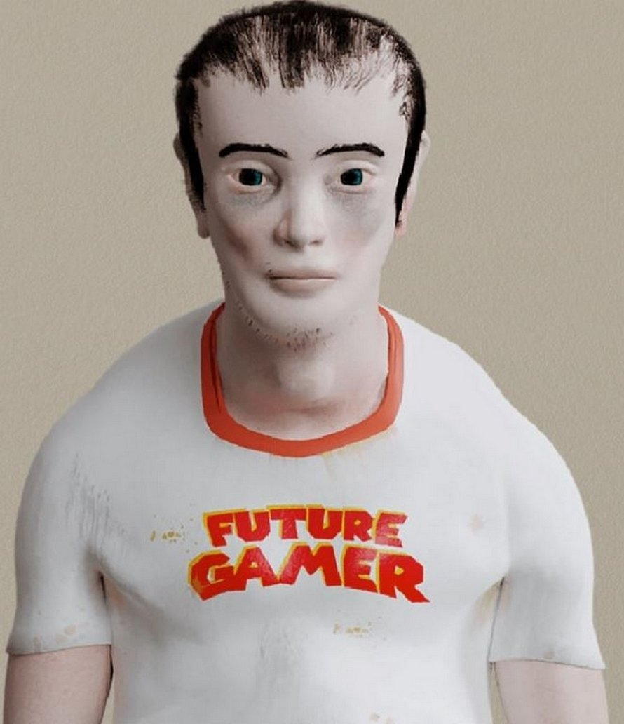 Ce mannequin terrifiant montre à quoi les gamers pourraient ressembler dans 20 ans