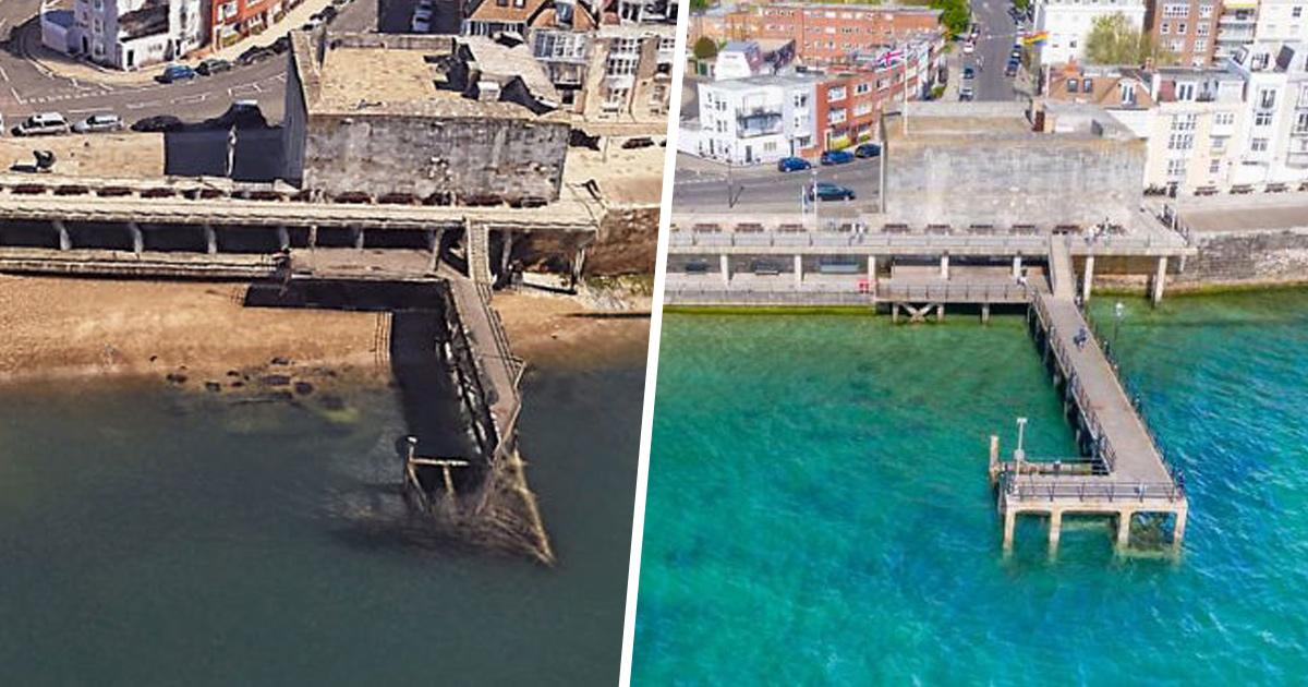Les eaux troubles autour du littoral britannique deviennent tropicales pendant le confinement