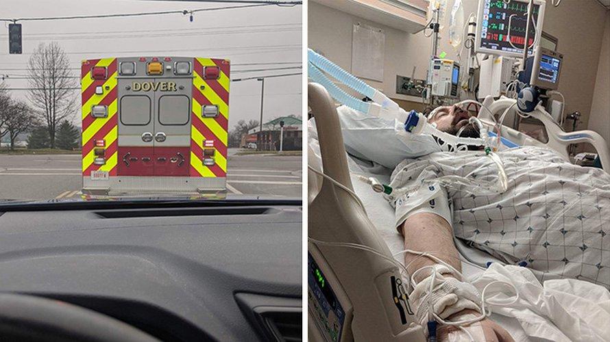 Un patient qui a guéri du Covid-19 a laissé un message émouvant aux médecins et aux infirmières
