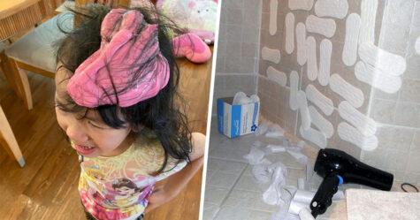 Des parents partagent leurs difficultés hilarantes face à leurs enfants pendant le confinement et voici les 22 plus drôles