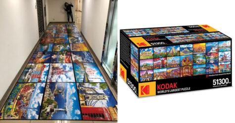 Kodak dévoile un puzzle de 51300 pièces et il devrait te durer tout le confinement
