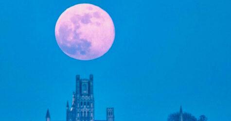 Une énorme «super lune rose» éclairera le ciel la semaine prochaine