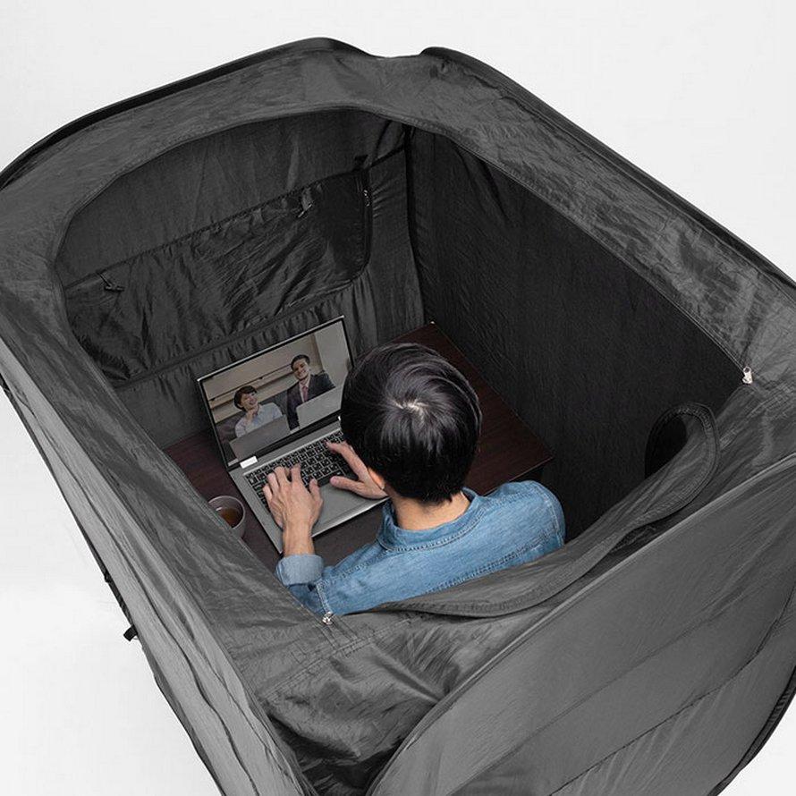Cette tente transforme votre bureau à la maison en havre de paix