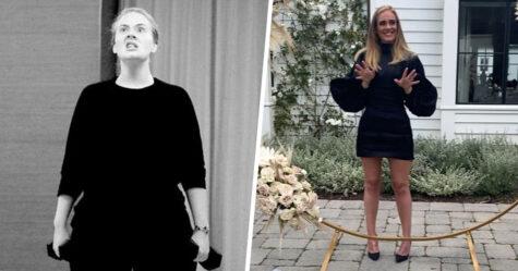 Adele reçoit des critiques sur les médias sociaux après avoir perdu 44 kilos, alors son entraîneur personnel la défend