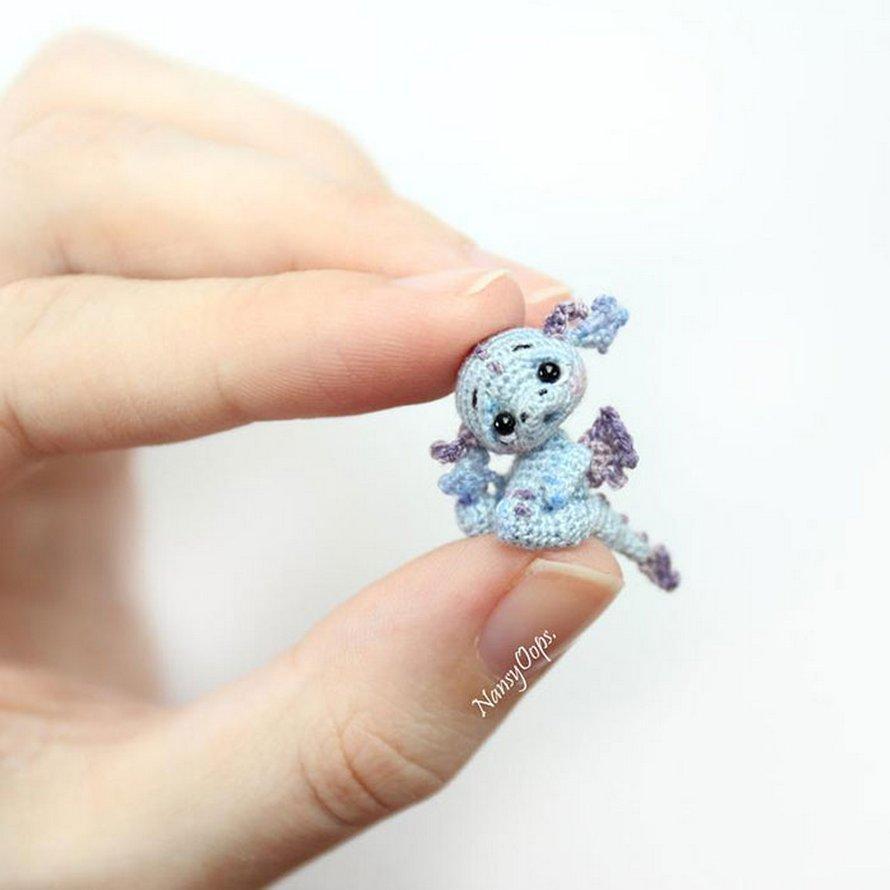 Vous pouvez crocheter ces petits dragons qui rendront votre bureau adorable pendant le confinement