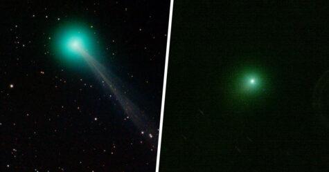 Une comète verte avec une queue de 16 millions de kilomètres de long sera visible ce soir alors qu'elle survolera la Terre