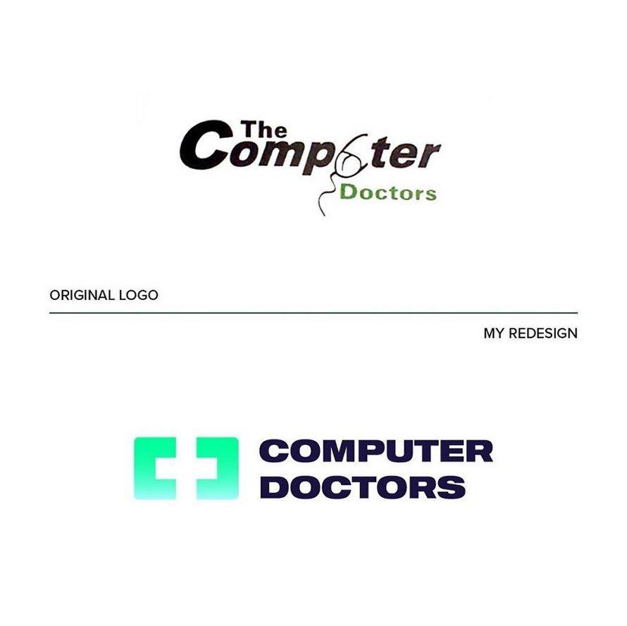 Ce graphiste corrige les «pires logos du monde» et voici les 9 meilleures refontes