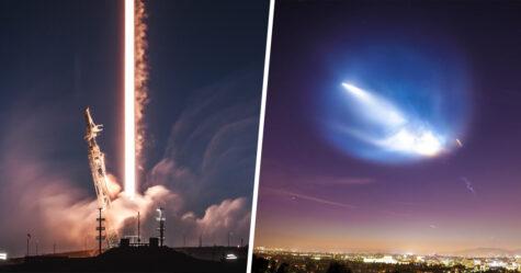 La fusée de SpaceX d'Elon Musk sera visible dans le ciel au-dessus de la France ce soir