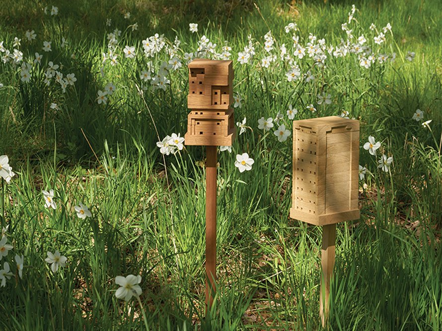 IKEA encourage les gens à construire leur propre maison d'abeilles gratuite