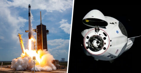 Le vaisseau spatial de SpaceX transportant des astronautes s'est amarré avec succès à la Station spatiale internationale