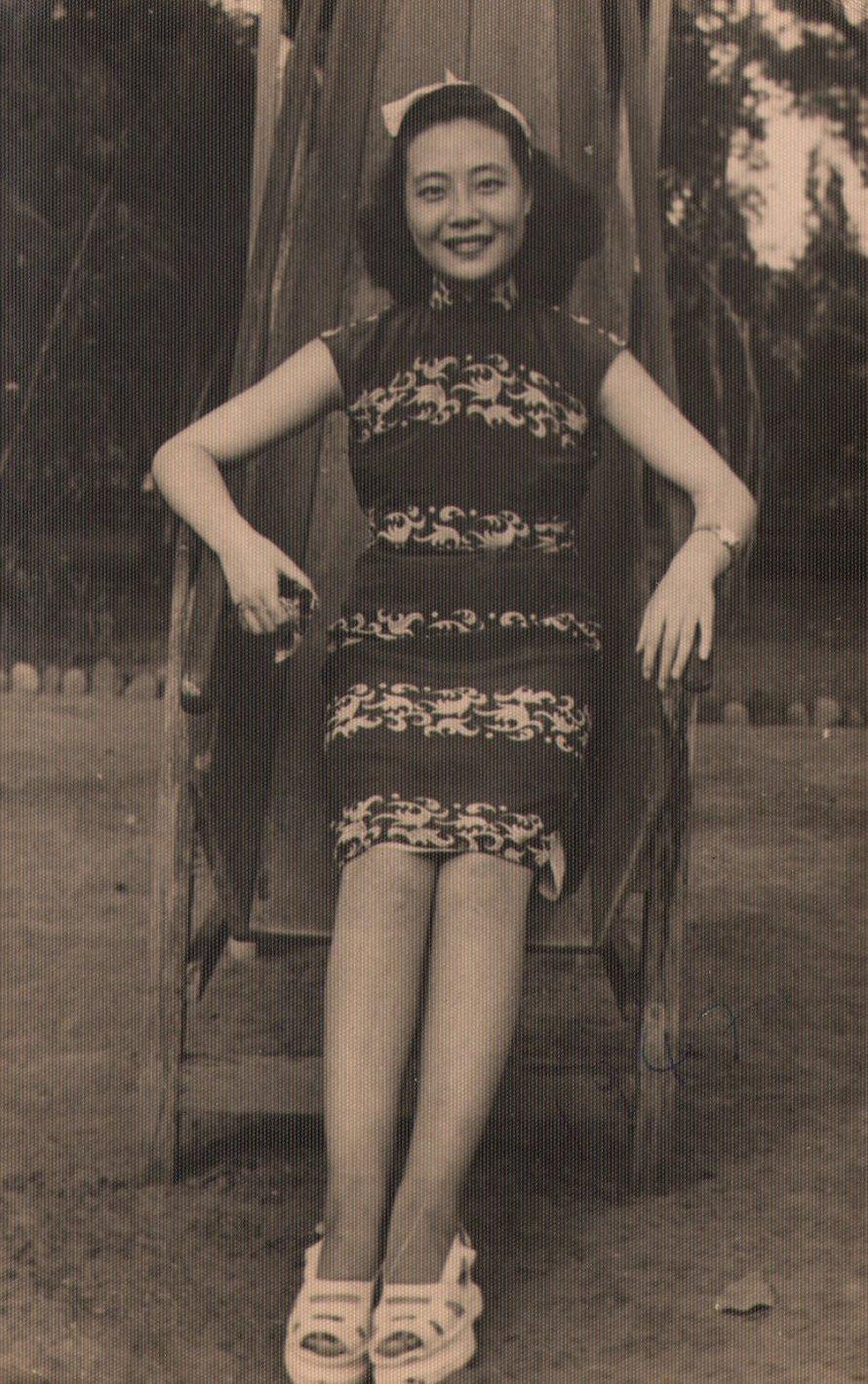 Ma grand-mère ne m'a pas laissé voir son album photo avant sa mort et ce n'est que récemment que j'ai découvert sa vie de rêve