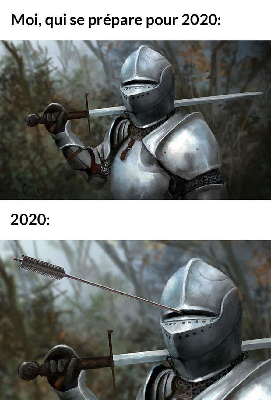 Voici les meilleures blagues sur 2020 jusqu'à présent