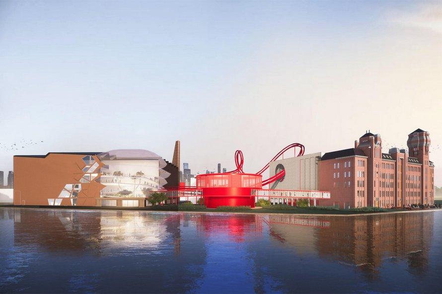 Une chocolaterie avec des montagnes russes comme dans Charlie et la Chocolaterie va ouvrir ses portes à Amsterdam