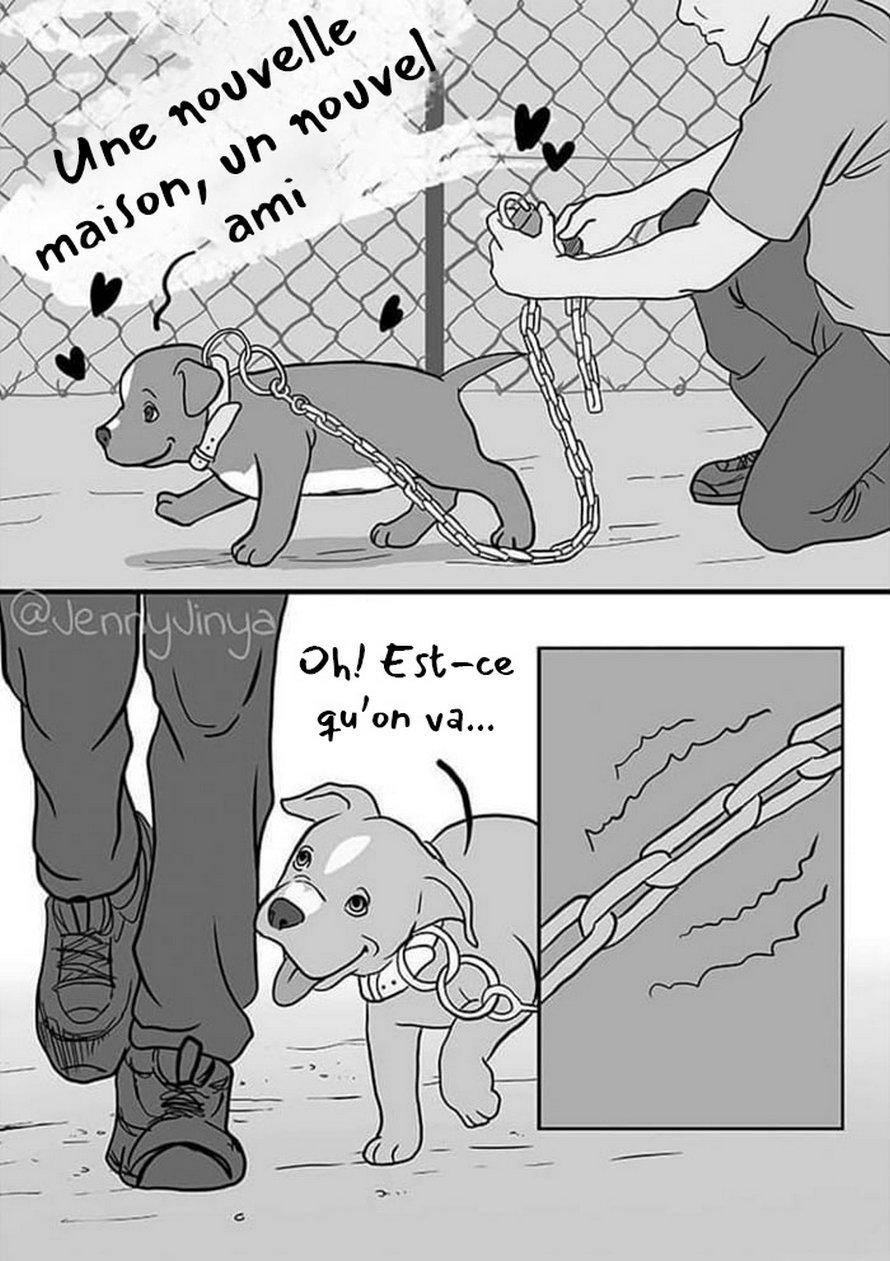 L'artiste qui a fait pleurer les gens avec sa bande dessinée «Bon garçon» vient d'en publier une nouvelle sur un chien et elle dit qu'elle était pénible à dessiner