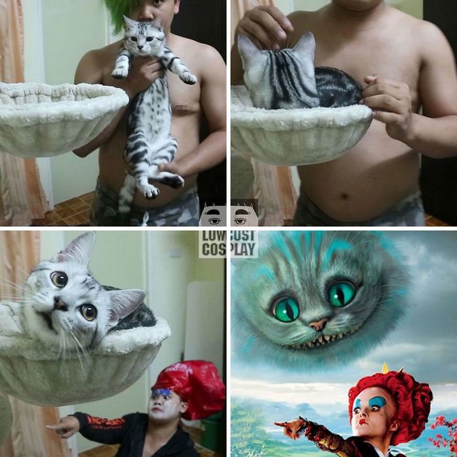 Voici plusieurs nouveaux costumes hilarants par le mec qui crée des costumes pas chers