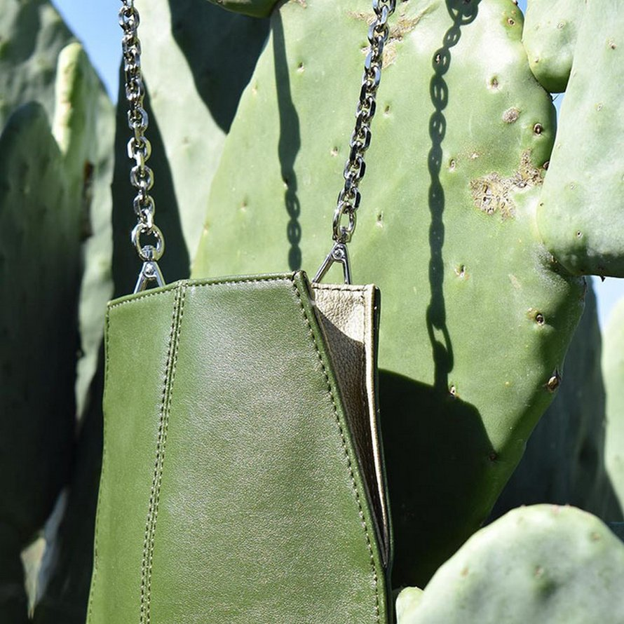 Deux amis ont trouvé un moyen de fabriquer du cuir à partir de feuilles de cactus pour aider à protéger l'environnement