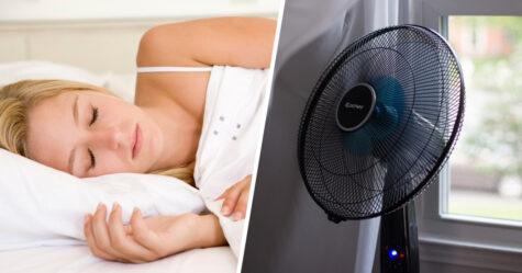 Dormir avec un ventilateur en marche aggrave les symptômes du rhume des foins, prévient un expert