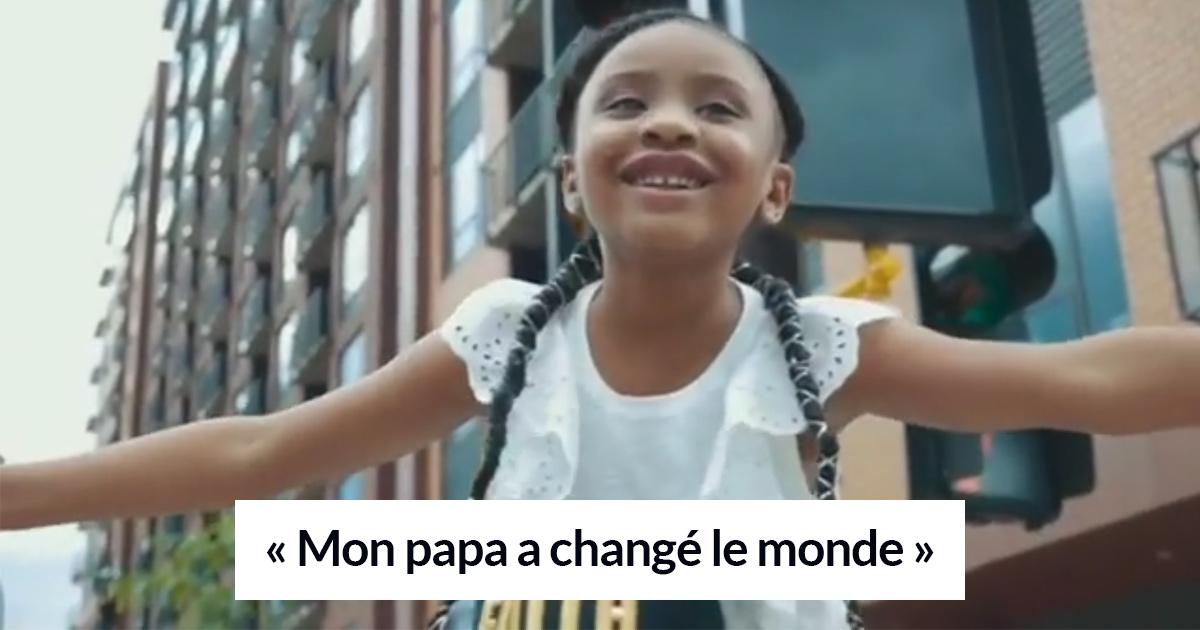 «Mon papa a changé le monde» : la fille de 6 ans de George Floyd rend hommage à son père décédé