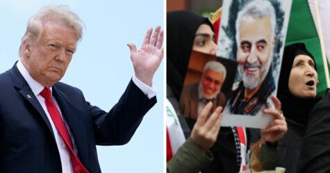 L'Iran lance un mandat d'arrêt contre Donald Trump pour une attaque de drone mortelle