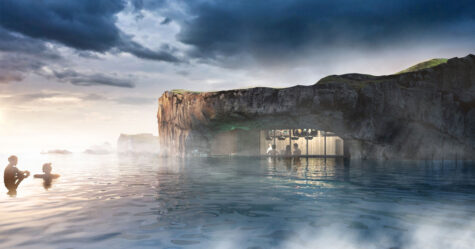 Un nouveau lagon géothermique en Islande avec un bar dans l'eau ouvrira l'année prochaine