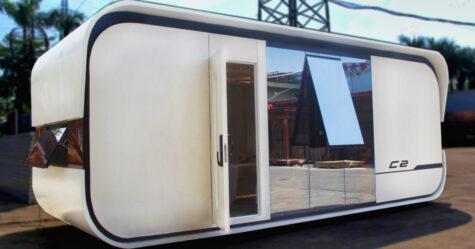 Cette mini-maison à 46000€ abrite confortablement 4 personnes dans seulement 24,7 mètres carrés
