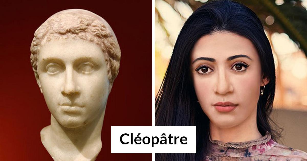 Voici à quoi ressembleraient Cléopâtre et 17 autres personnages historiques aujourd'hui
