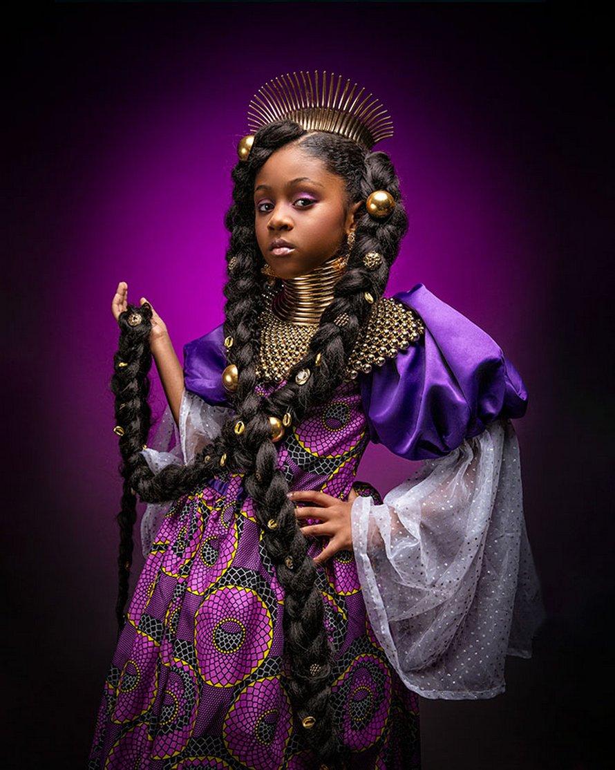 Ces clichés saisissants montrent à quoi ressembleraient les princesses Disney si elles étaient afro-américaines